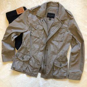 BR Grey/Dusty Sage Utility Jacket Size XS